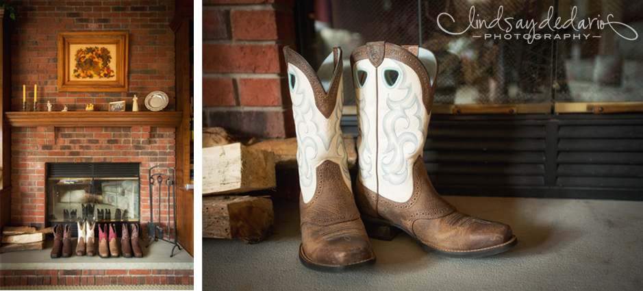 check out the boots jess and her bridesmaids wore for her wedding day